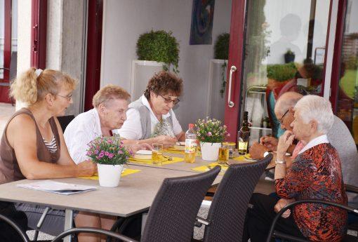 Pro Senectute Mittagstisch im Juli